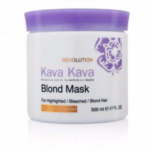 מסכת בלונד להזנה וטיפול בשיער יבש ופגום קווה קווה KAVA KAVA