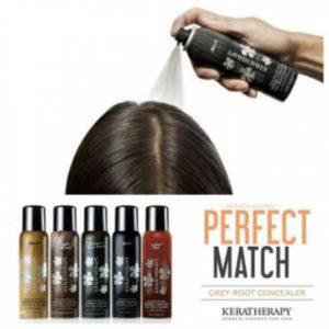 תרסיס לכיסוי שורשי שיער לבנים קרטרפי  KERTHERAPY