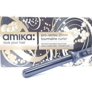 """מסלסל 25 מ""""מ מתאים לכל סוגי השיער  אמיקה  Amika"""