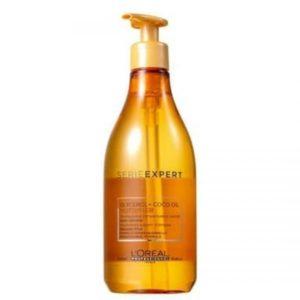 """שמפו לשיער יבש וחסר הזנה ללא סיליקון 500 מ""""ל ו1500 מ""""ל לוריאל LOREAL"""