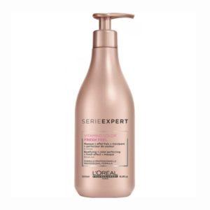 שמפו מעניק הגנה ברק רכות לשיער צבוע ללא סולפט (מלחים) לוריאל  LOREAL