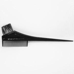 מברשת לצביעת שיער צרה עם מסרק ושפיץ
