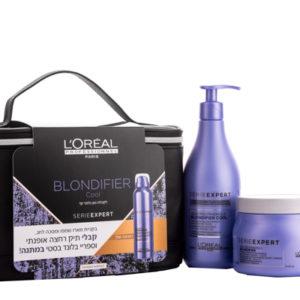 מארז לשיער בלונדיני צבוע או מובהר בלונדיפייר קול לוריאל