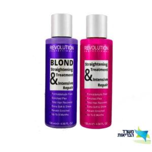החלקה סאקורה רבולושן לשיער צבוע טבעי או בעל גוונים REVOLUTION