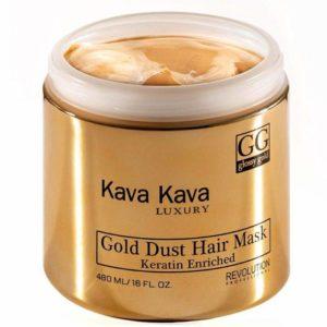 מסכה זהב לשיער יבש או פגום מרדני קווה קווה Kava Kava