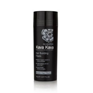 סיבי שיער קווה קווה עשויים מקרטין למילוי שיער דליל Kava Kava